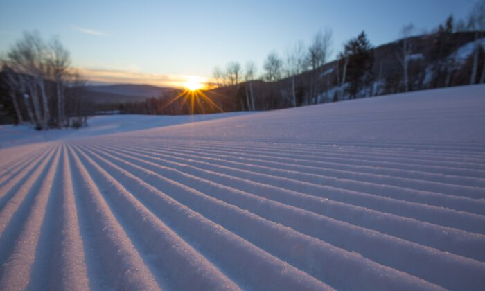 Sunday River resort is known for its excellent grooming to help beginners enjoy the mountain and more advanced skiers enjoy higher speeds. (Nick Lambert/Sunday River)