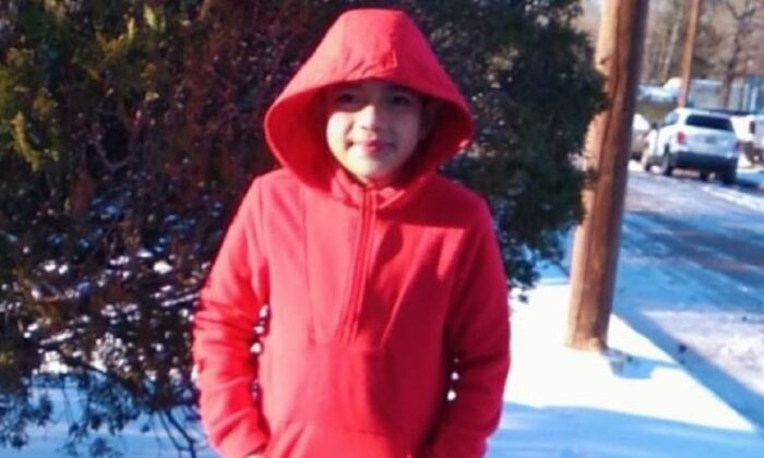 Cristian Pineda, 11, in a file photograph. (Ayuda para Cristian pavon para enviar el cuerpo/GoFundMe)