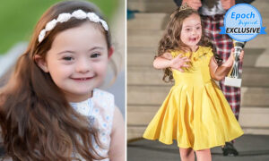 Aspiring Model With Down Syndrome, Aged 5, in Her Element as She Walks in Fashion Shows