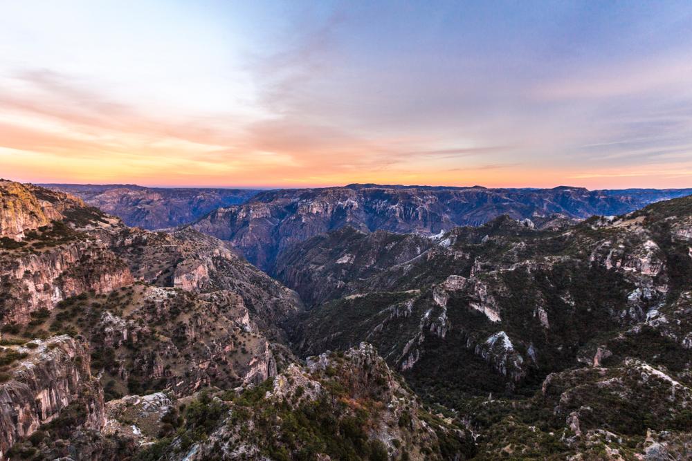 Copper,Canyon,-,Mexico
