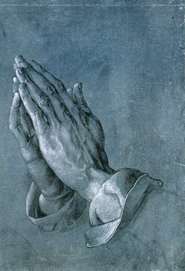 "ntation of art itself."" ""Praying Hands,"" circa 1508, by Albrecht Dürer"