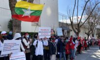 Burmese Protesters Gather in San Francisco Against Coup, CCP Influence