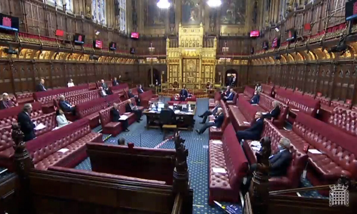 House of Lords UK