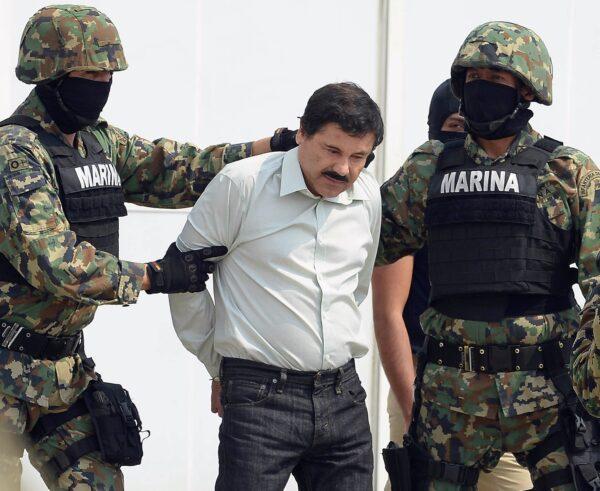 """Mexican drug trafficker """"el Chapo Guzman"""""""