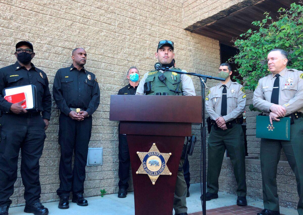 Los Angeles County Sheriff's Deputy Carlos Gonzalez