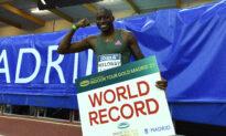 Holloway Breaks World Indoor 60 Meters Hurdles Record