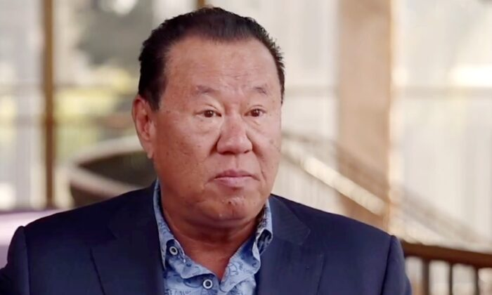 Pastor Che Ahn speaks in an episode of The Epoch Times' Crossroads program premiered on Feb. 23, 2021. (Screenshot/The Epoch Times)