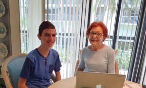 Teen Tech Guru Assists Seniors