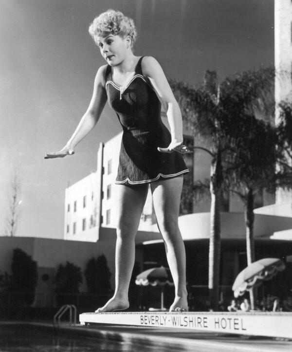 Betty Hutton circa 1945