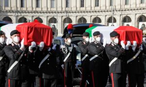 Italy Honors Slain Ambassador, Bodyguard and Prays for Congo