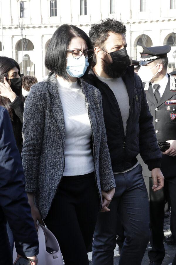Domenica Benedetto, partner of Italian Carabinieri police officer Vittorio Iacovacci