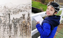 Autistic Boy Draws Detailed Cityscapes From Memory After Just One Look: 'It's His Passion'