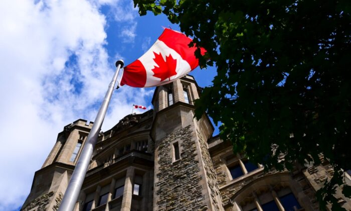The Canada Revenue Agency (CRA) headquarters Connaught Building is pictured in Ottawa on Aug. 17, 2020. (Sean Kilpatrick/The Canadian Press)