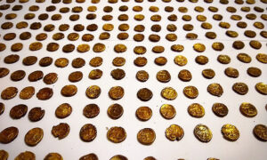 Birdwatcher Spots Gold Coin in Field, Unearths Hoard of 1,300 Celtic Coins Worth 845,000 Pounds
