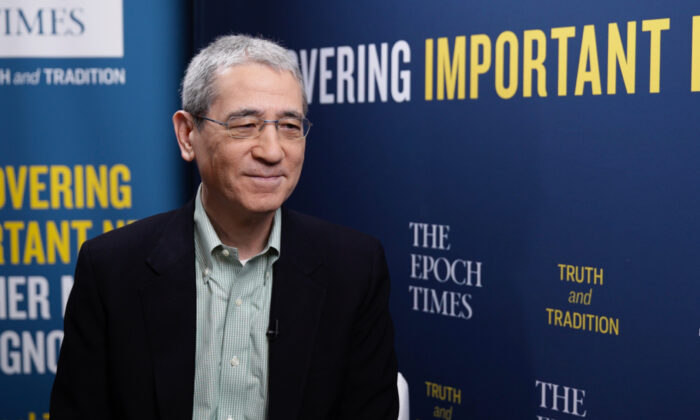 China analyst Gordon Chang at the 2021 Conservative Political Action Conference in Orlando, Fla., on Feb. 25, 2021. (Tal Atzmon/The Epoch Times)