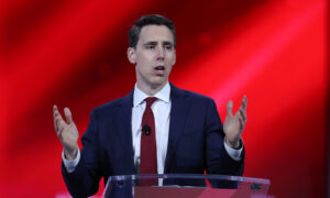 Sen. Josh Hawley Speaks at CPAC