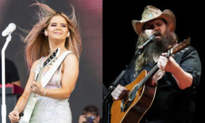 Maren Morris, Chris Stapleton lead ACM Awards nominations
