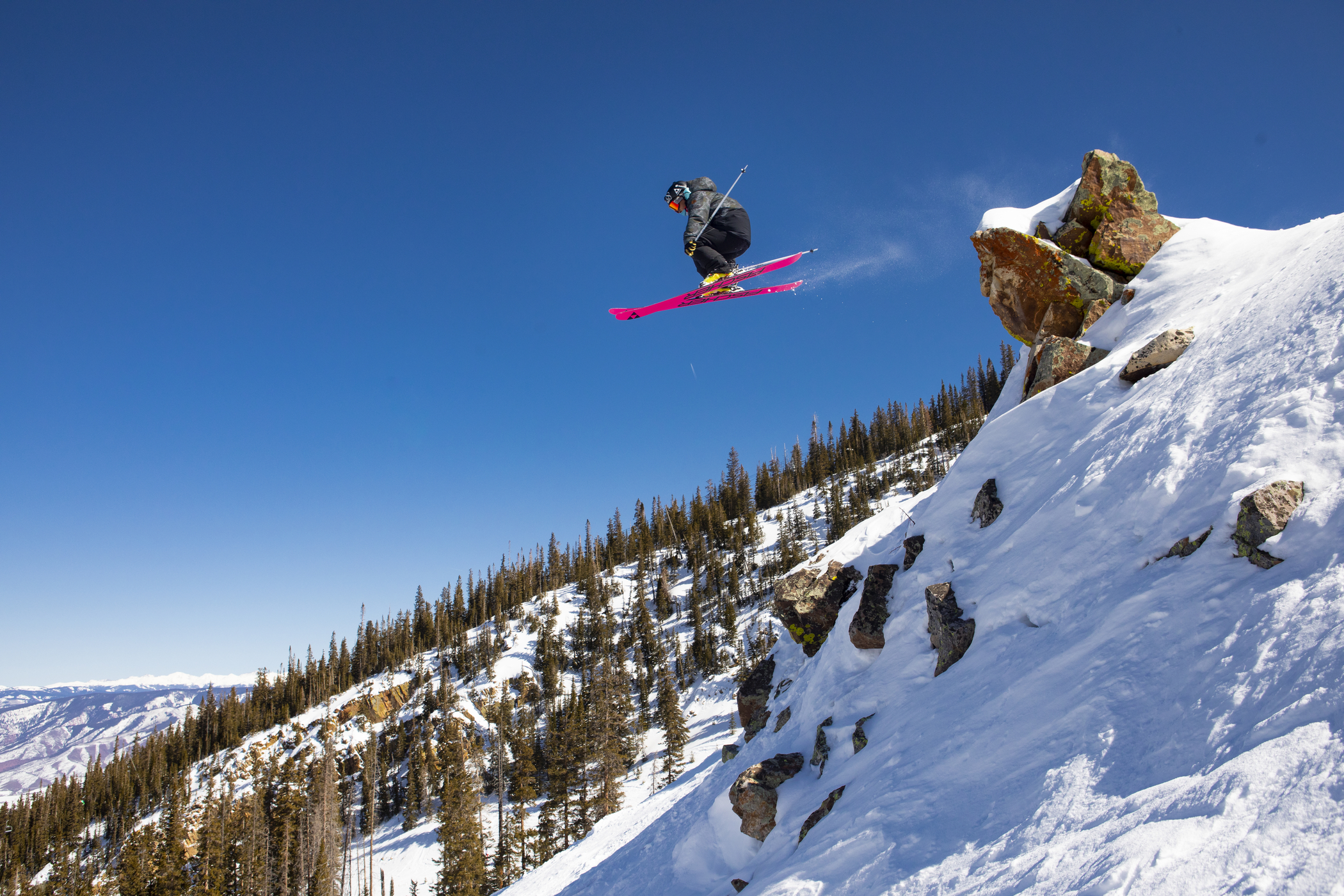 Catching some air in Snowmass. (Jeremy Swanson/Snowmass Tourism)