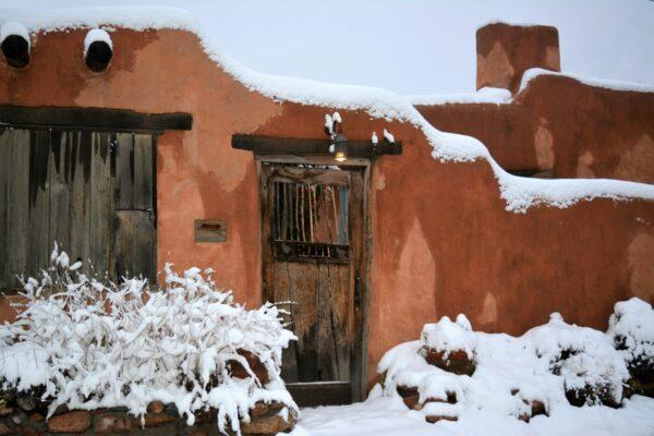 santa fe in winter