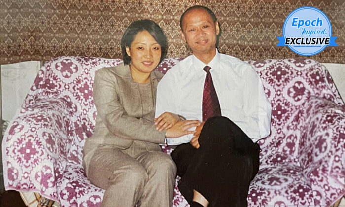 Ying Li, 51, with her husband, Grant Lee, 58. Ying was persecuted in communist China two decades ago for refusing to give up her faith in the Falun Gong spiritual school before Grant rescued her to Australia in November 2003.(Courtesy of Ying Li and Grant Lee)