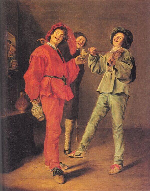 three-boys-merry-making-1629