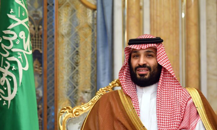 Saudi Arabian Crown Prince Mohammed bin Salman in Jeddah, Saudi Arabia, on Sept. 18, 2019. (Mandel Ngan/AFP via Getty Images)