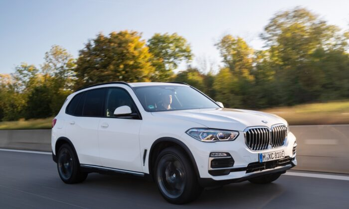 2021 BMW X5 xDrive 45e. (Courtesy of BMW)