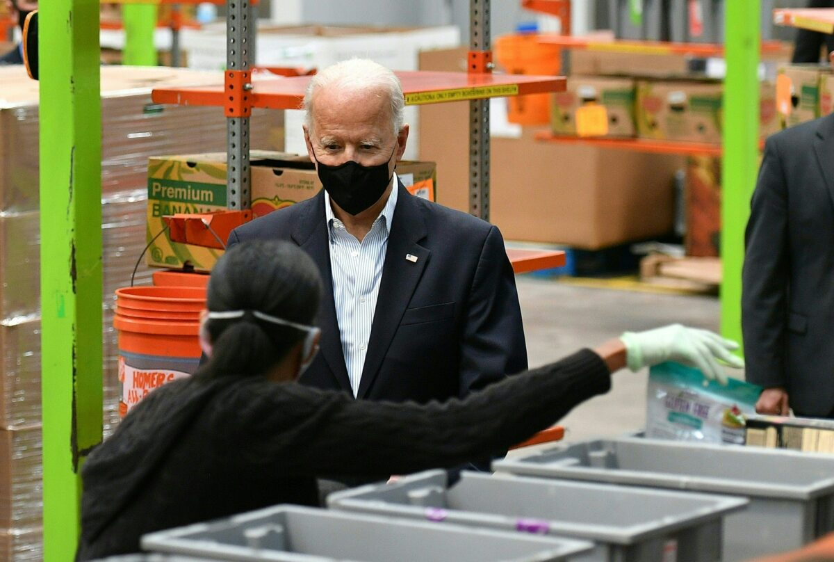 biden food bank