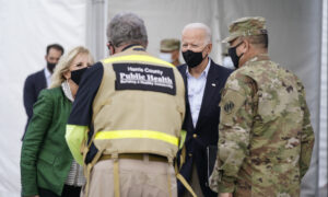 Biden Visits Texas, Promises to Help With Recovery From Storms