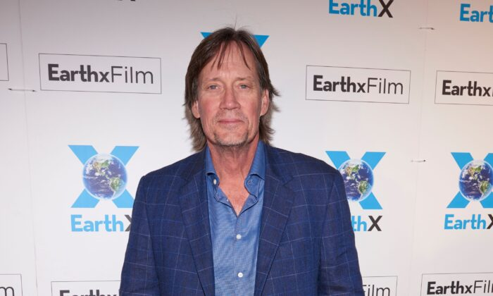Kevin Sorbo poses for a photo during the EarthxGlobal Gala in Dallas, Texas, on April 20, 2018. (Cooper Neill/Getty Images for EarthX)