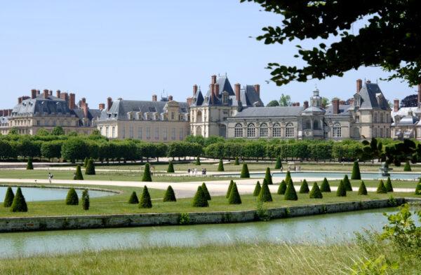 Château de Fontainebleau.