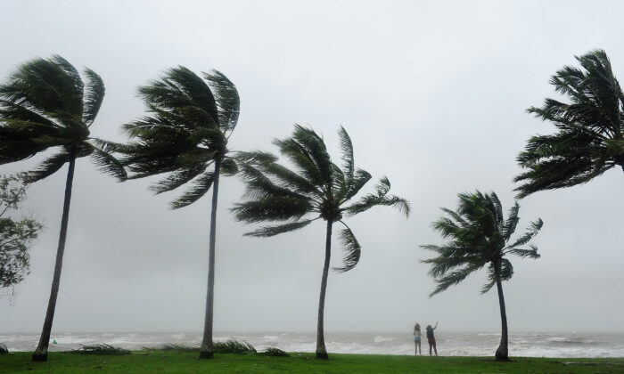 Cyclone Niran could intensify over the following two days. (Ian Hitchcock/Getty Images)