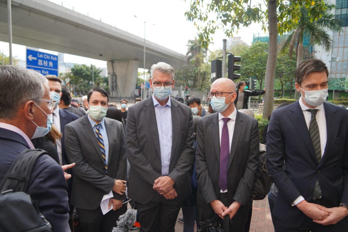 Hong Kong Diplomats national security law 47