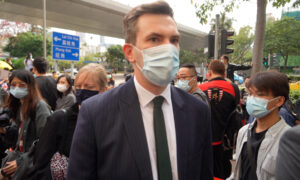 UK Diplomat Attends Hearing of 47 HK Dissidents as Raab Condemns National Security Law