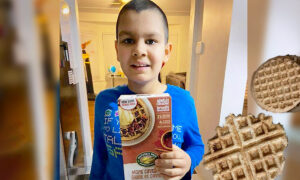 Autistic Boy With Eating Issues Frets When Favorite Waffles Discontinued–so Company Sends Mom Recipe