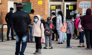 Illinois Punishes 37 Public School Districts for Not Imposing Mask Mandates