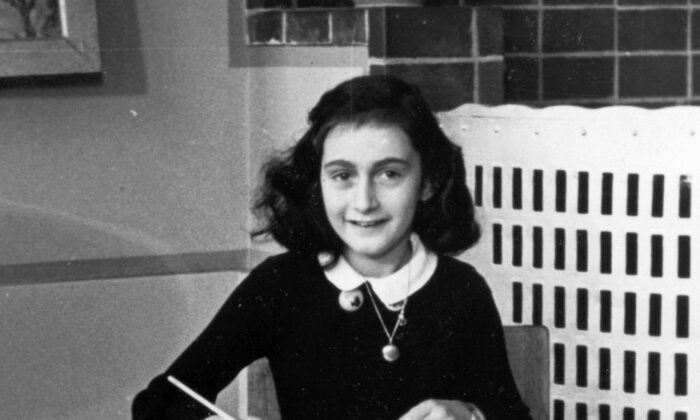 Anne Frank in 1940. Collection of the Anne Frank Foundation, Amsterdam. (Public Domain)