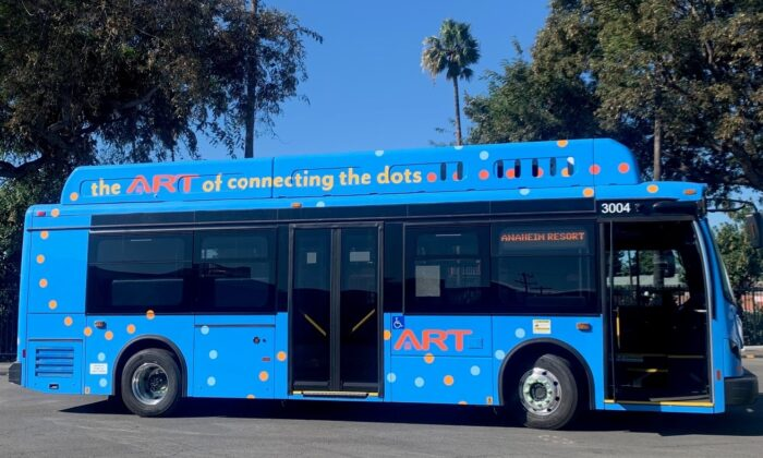 The Anaheim Transportation Network was awarded a $5 million grant to advance its effort to become California's first all-electric transit operator.   (Courtesy of the Anaheim Transportation Network)