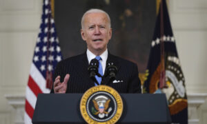 Biden Says Country 'On Track' to Have Enough Vaccines for All Adult Americans by End of May