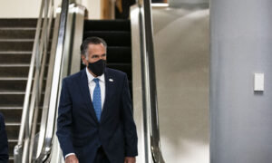 Romney Treated at Hospital After Fall