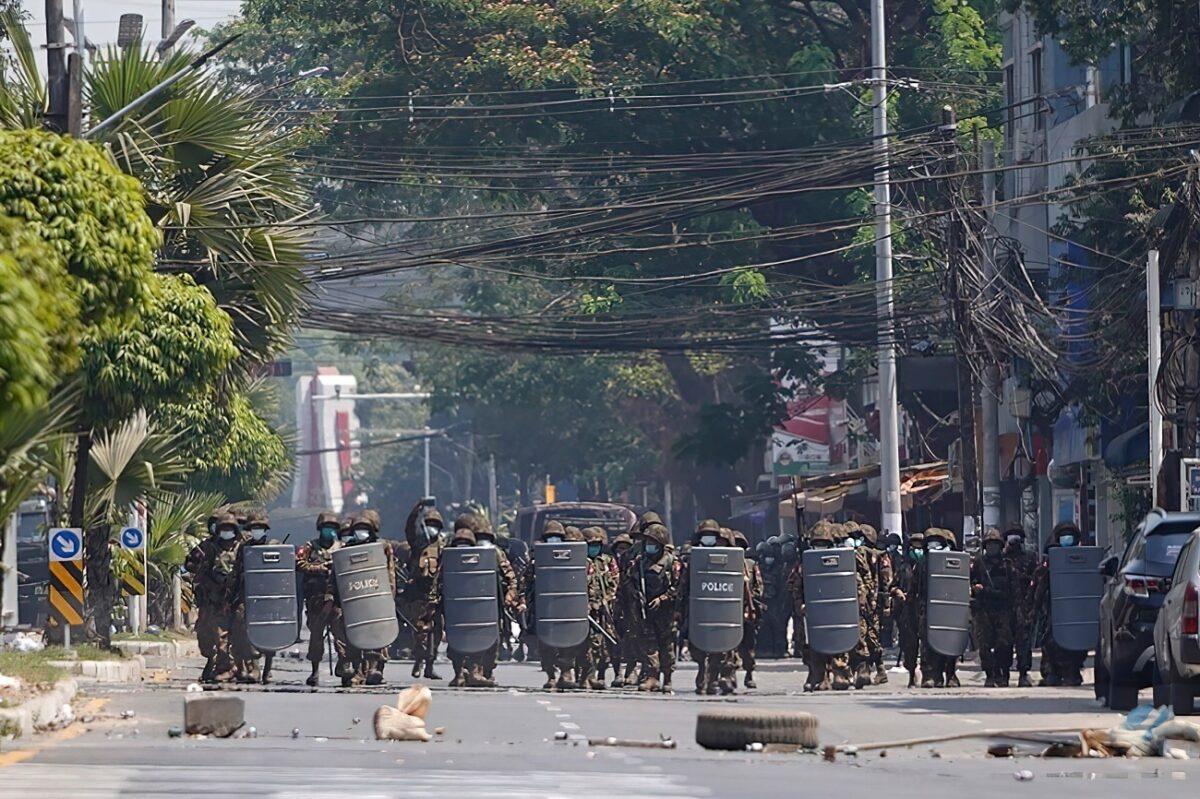 police-in-burma