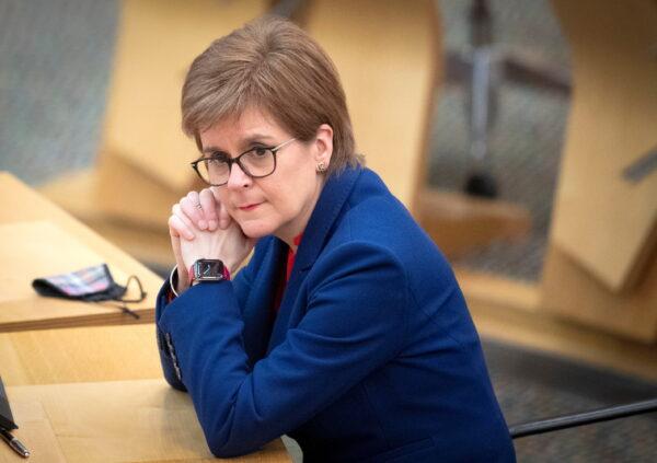 FM Sturgeon attends COVID-19 briefing in Edinburgh