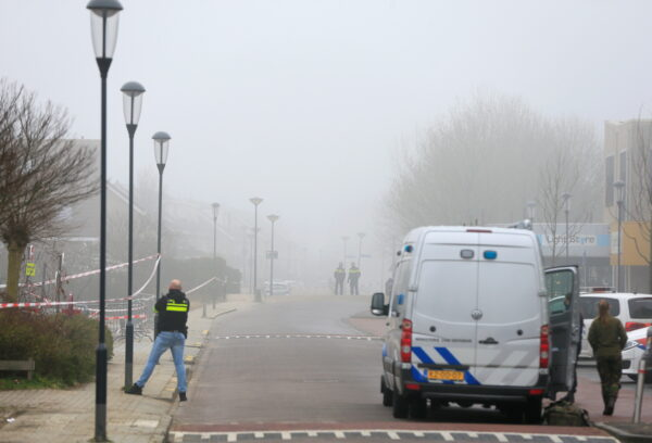 Explosion at COVID-19 testing location near Amsterdam