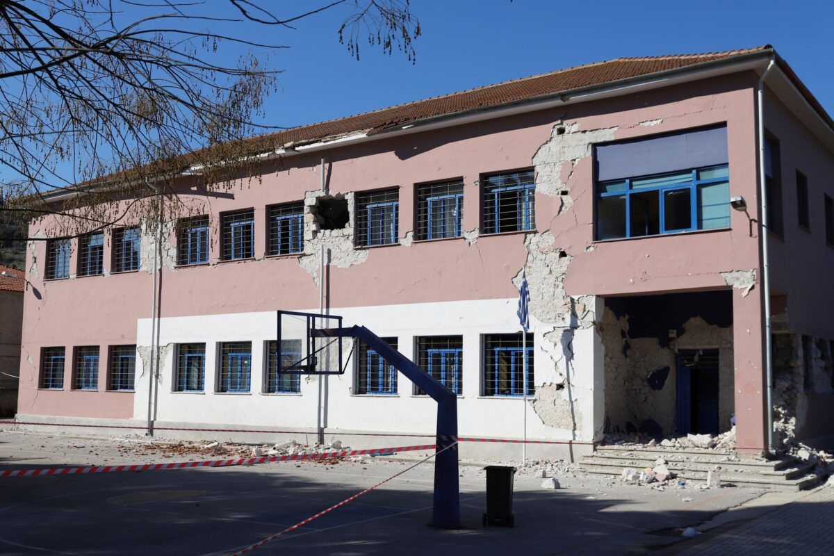 Damage on the building