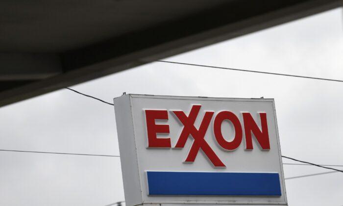 An Exxon gas station is seen in Houston, Texas, on April 30, 2019. (Loren Elliott/Reuters)