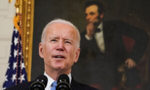 Biden: States Should Vaccinate Teachers Against COVID-19 by End of March