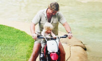 Robert Irwin Relives Memories Riding Late Dad Steve's 'Fixed Up' Iconic Trail Bike