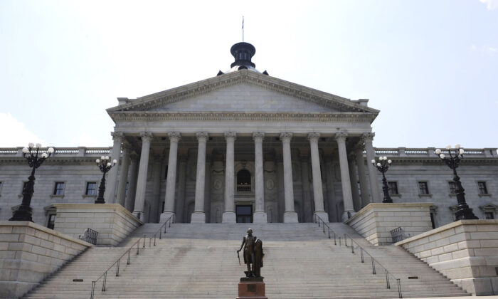 The State Capitol Building in Columbia, South Carolina, on June 24, 2009. (Davis Turner/Getty Images)