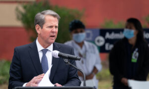 Georgia Gov. Kemp Says He Would 'Absolutely' Back Trump for President in 2024