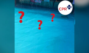 Can You Spot the Kid in This Photo of an 'Empty' Swimming Pool? A Chilling Warning to Parents About Swimwear: